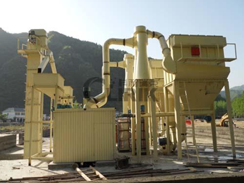 萤石磨粉机-萤石加工设备